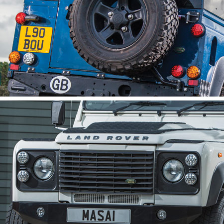 NAS LED Lights Land Rover Defender