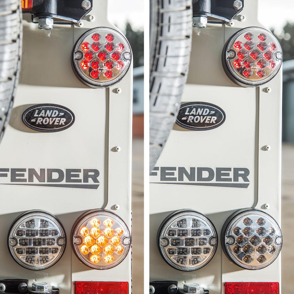 Land Rover Defender NAS LED Lights