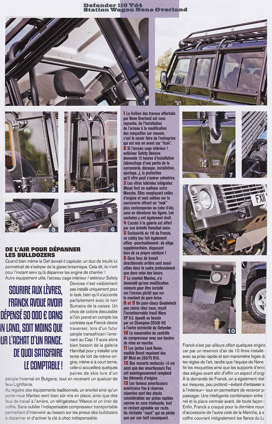 French Magazine Article