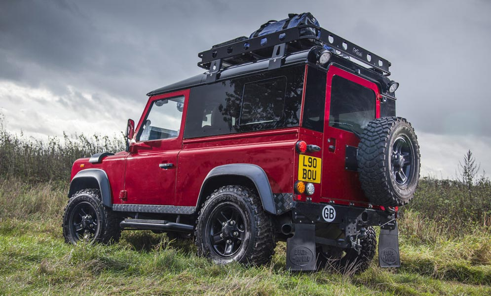 Red 02 Masai Land Rover Defender Upgrades Accessories